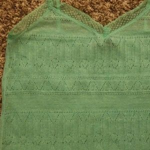 American Eagle Outfitters Tops - AE crochet camisole